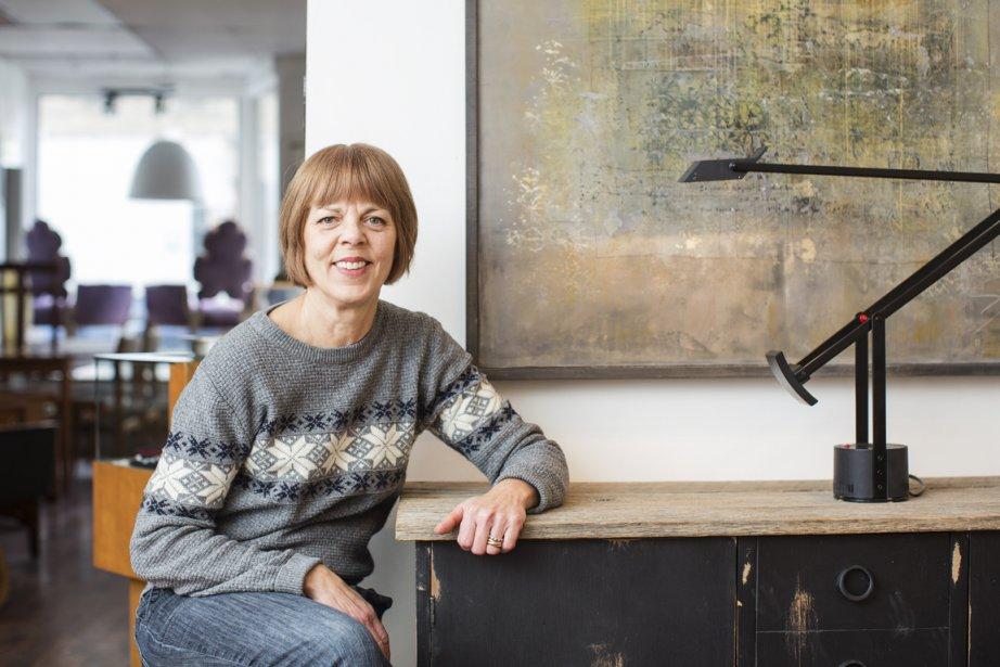 Martine Verroeulst, copropriétaire de la boutique Cité Déco. (Photo Édouard Plante-Fréchette, La Presse)