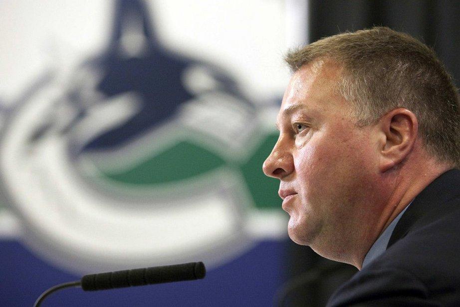 Le DG Mike Gillis des Canucks de Vancouver.... (Photo: Reuters)