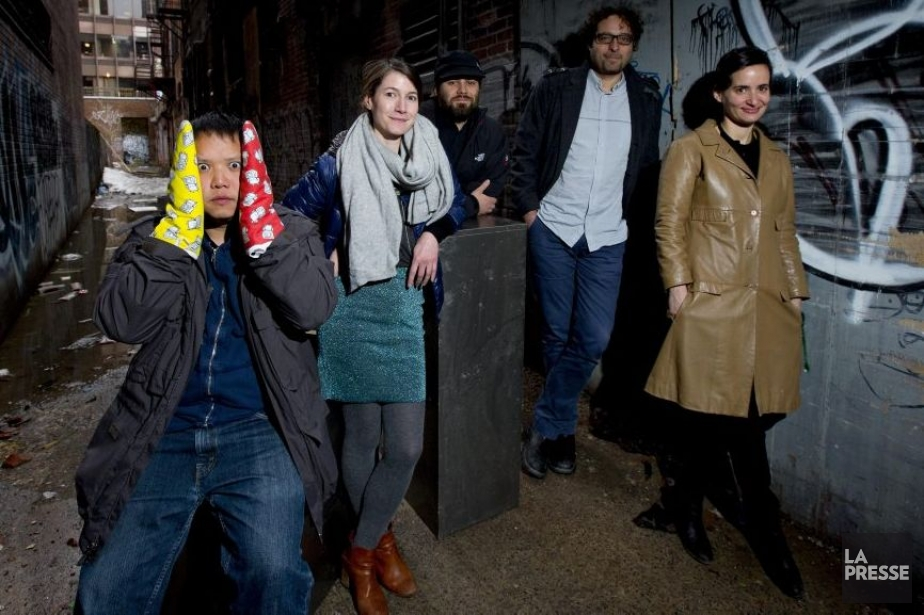 Kid Koala, Melissa Mongiat, Mike Wozniewski, Theodore Ushev et Mouna Andraos participeront également à l'exposition Mur à mur. (Photo: Alain Roberge, La Presse)