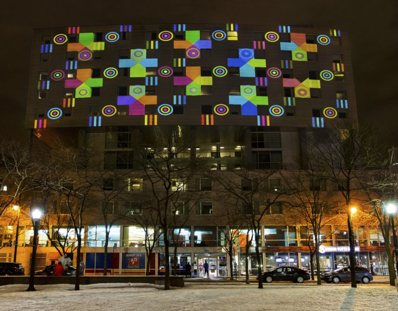 Color.Rythmetic de Christo Guelov (Photo: fournie par le Quartier des spectacles)