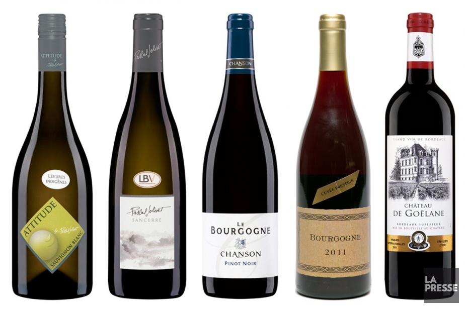 Beaucoup de vins de Sauvignon blanc se présentent avec des... (Photo La Presse)
