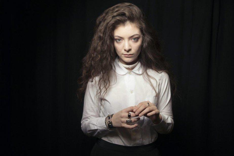 Lorde... (Photo: AP)