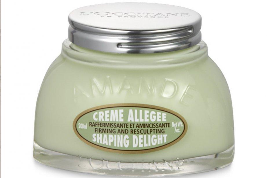 Le principal produit visé est la Crème Allégée... (Photo tirée du site web de l'Occitane)