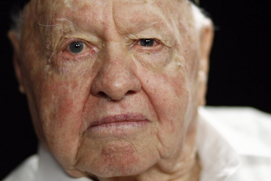 Mickey Rooney en mai 2011.... (Photo: archives AP)