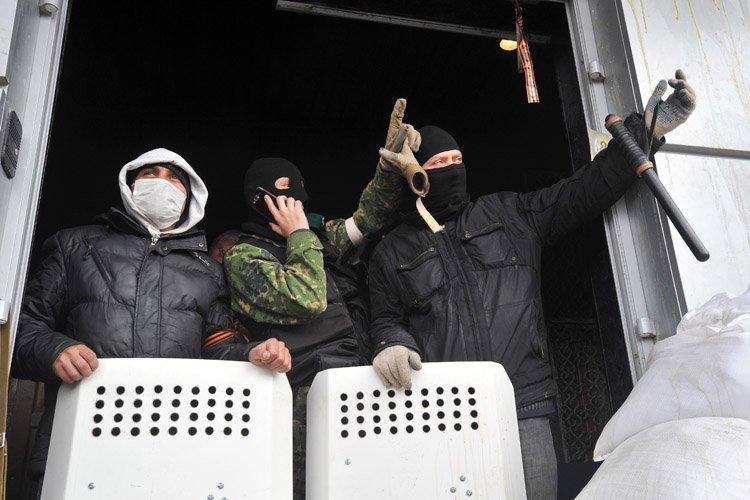 La situation dans l'Est de l'Ukraine restait tendue... (Photo: AFP)
