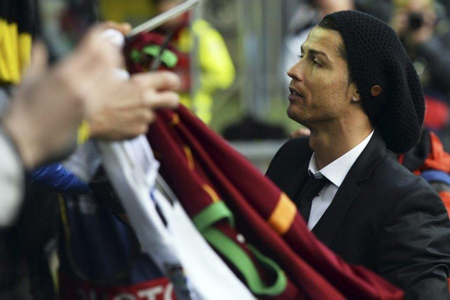 Cristiano Ronaldo... (Photo archives AFP)