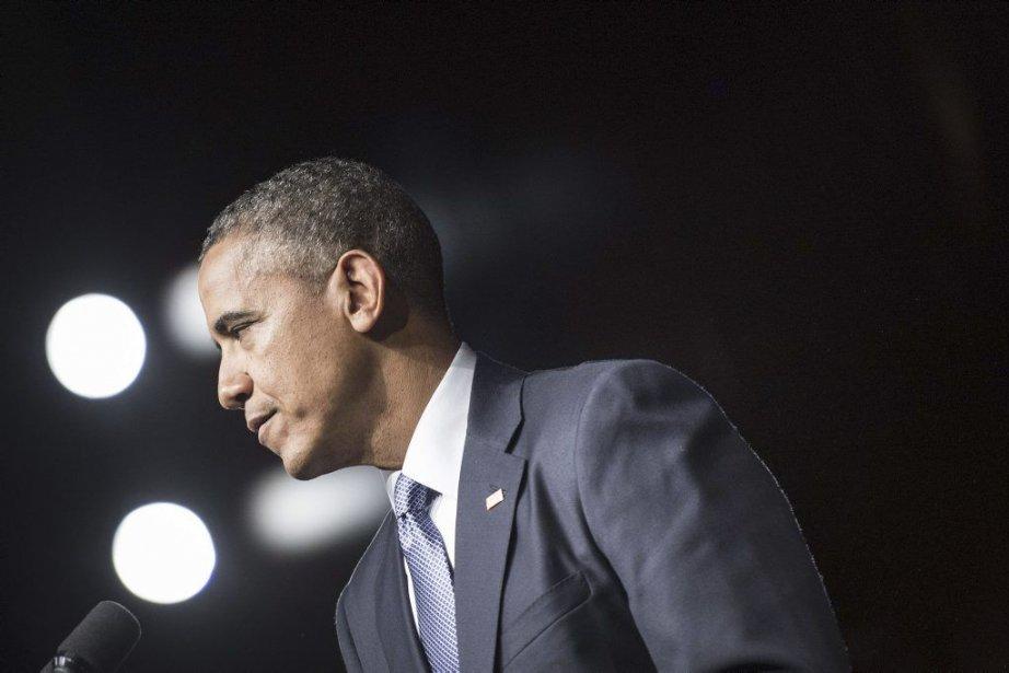 Barack Obama a souligné que sa présence au... (Photo AFP)