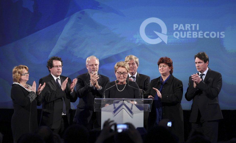 Qu'est ce qui définissait le PQ à sa... (Photo Christinne Muschi, Reuters)