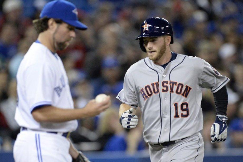 Les Astros de Houston ont marqué tous leurs... (Photo La Presse Canadienne)