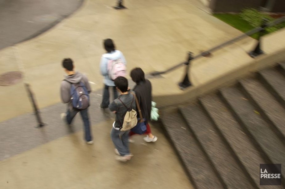 Les étudiants réclament un remboursementpour la suspension des... (Photo Ivanoh Demers, Archives La Presse)