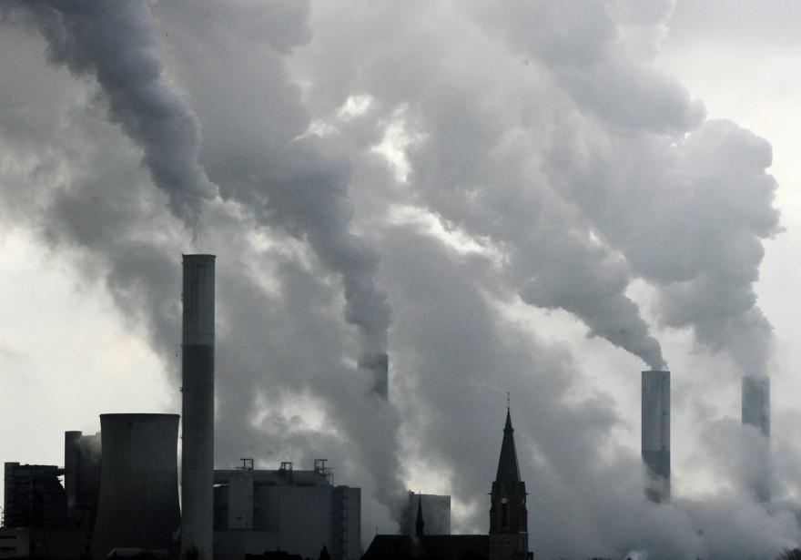 «Le changement climatique n'est plus une menace lointaine»,... (Photo Frank Augstein, archives AP)