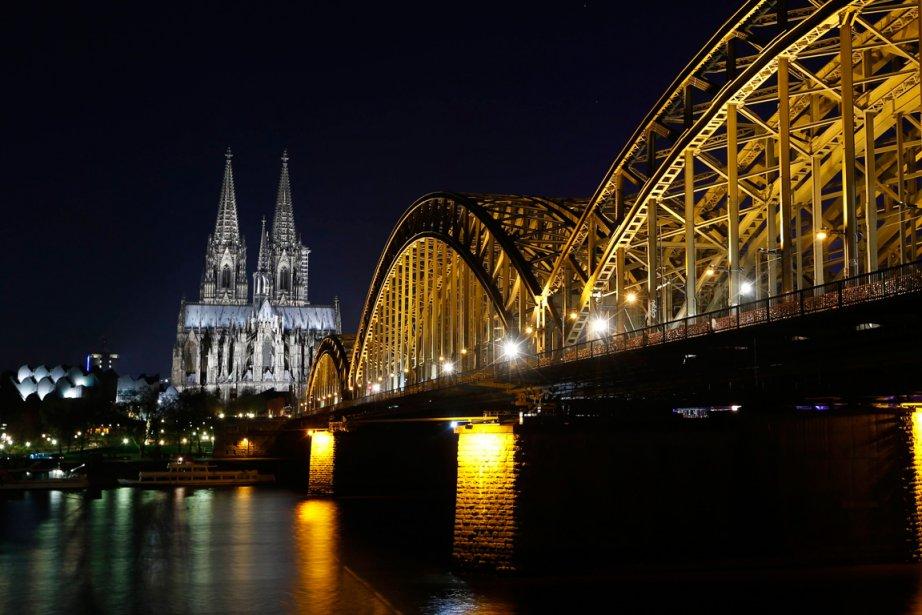 La cathédrale de Cologne en Allemagne.... (Photo archives AFP)