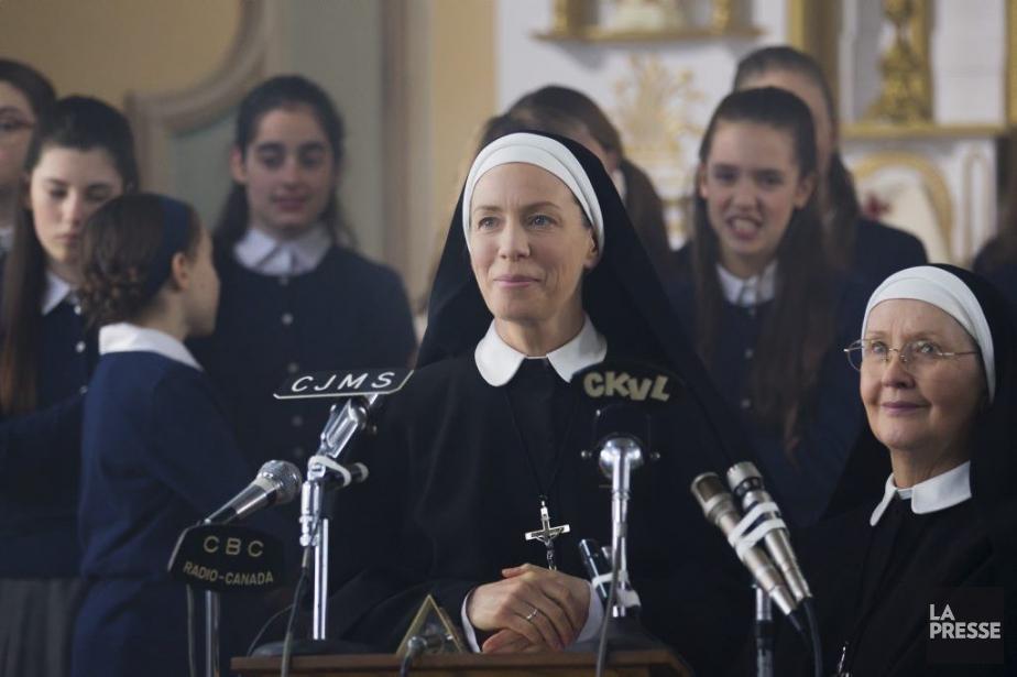 Céline Bonnier incarne une religieuse qui mène la... (Photo: Édouard Plante-Fréchette, La Presse)