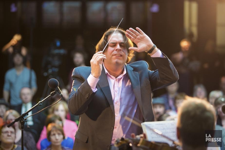 Le directeur artistique d'I Musici, Jean-Marie Zeitouni, continue... (Photo: André Pichette, La Presse)
