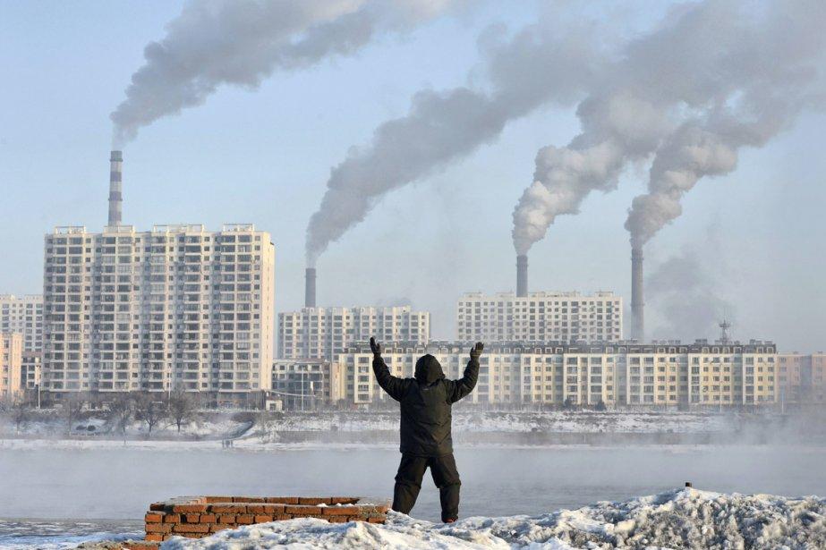 Première consommatrice mondiale de charbon (avec une tendance... (PHOTO ARCHIVES REUTERS/STRINGER)