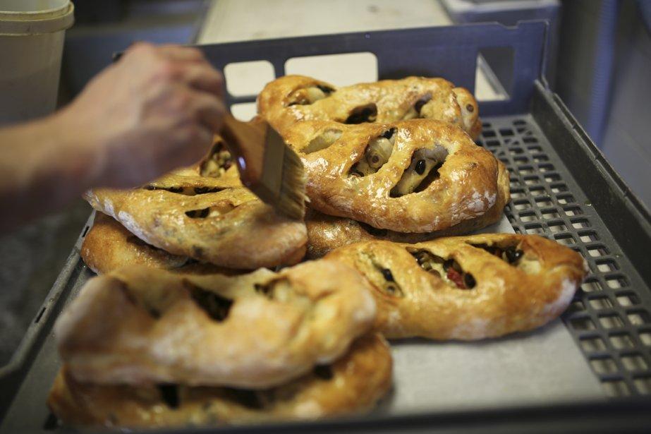 Le pain dans les voiles (Photo Martin Chamberland, La Presse)