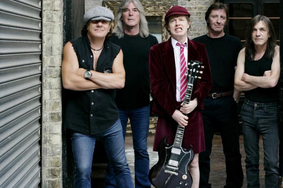 Le groupe AC/DC.... (Photo: Sony/BMG)