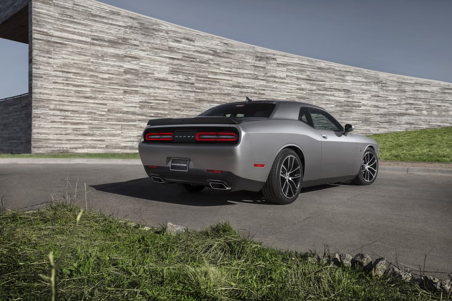 Dodge Challenger Scat Pack 392 Shaker 2015 (Photo fournie par Chrysler)