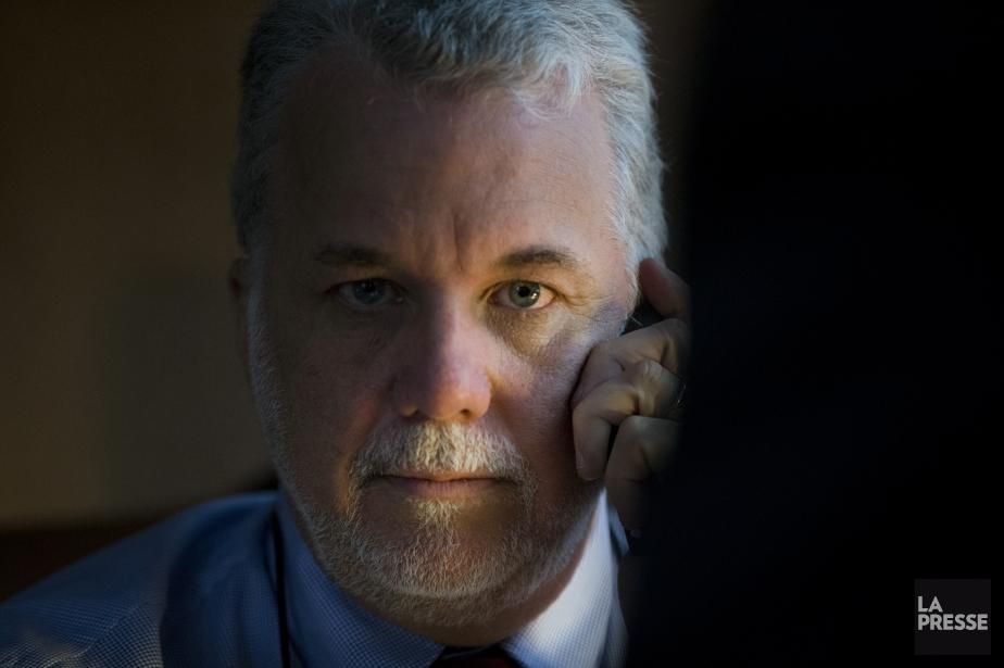 Le premier ministre du Québec, Philippe Couillard... (PHOTO IVANOH DEMERS, LA PRESSE)