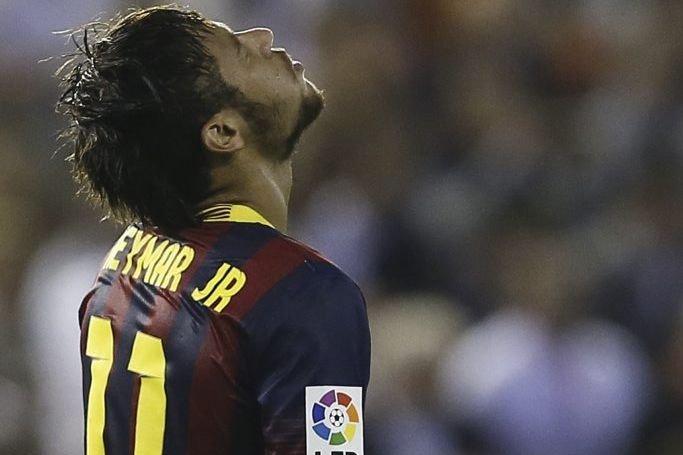 Neymar da Silva Santos Junior... (Photo Cesar Manso, Agence France-Presse)