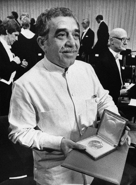 En 1982, date de la consécration, il obtient le prix Nobel de littérature. La célèbre académie salue une oeuvre «où s'allient le fantastique et le réel dans la complexité riche d'un univers poétique reflétant la vie et les conflits d'un continent». (Photo Bjorn Elgstrand, AP)