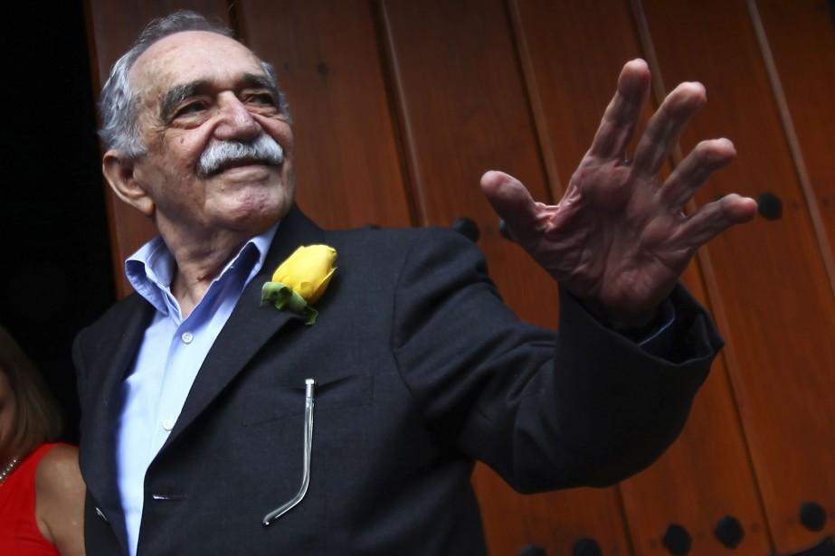 Gabriel Garcia Marquez le 6 mars dernier à... (Photo: archives AFP)