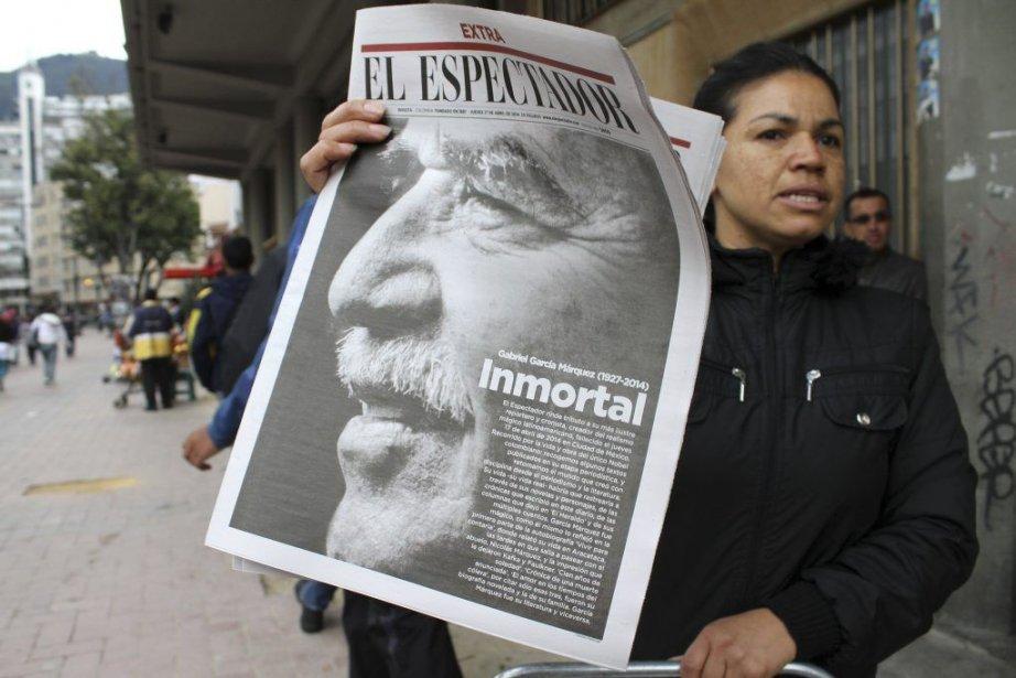 La mort de Gabriel Garcia Marquezétait à la... (PHOTO AGENCE FRANCE PRESSE)