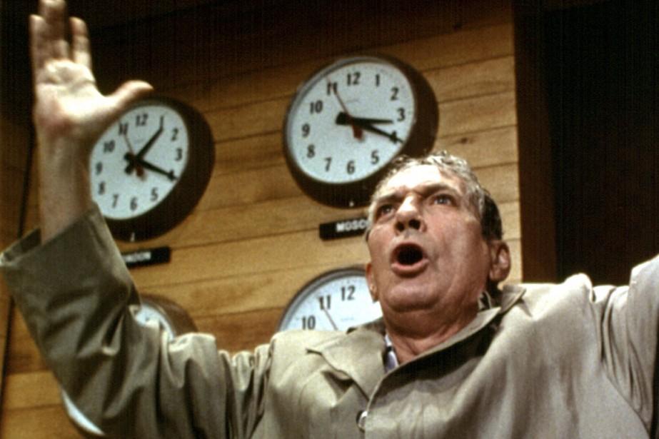Peter Finch dans Network.... (Photo collection Everett)