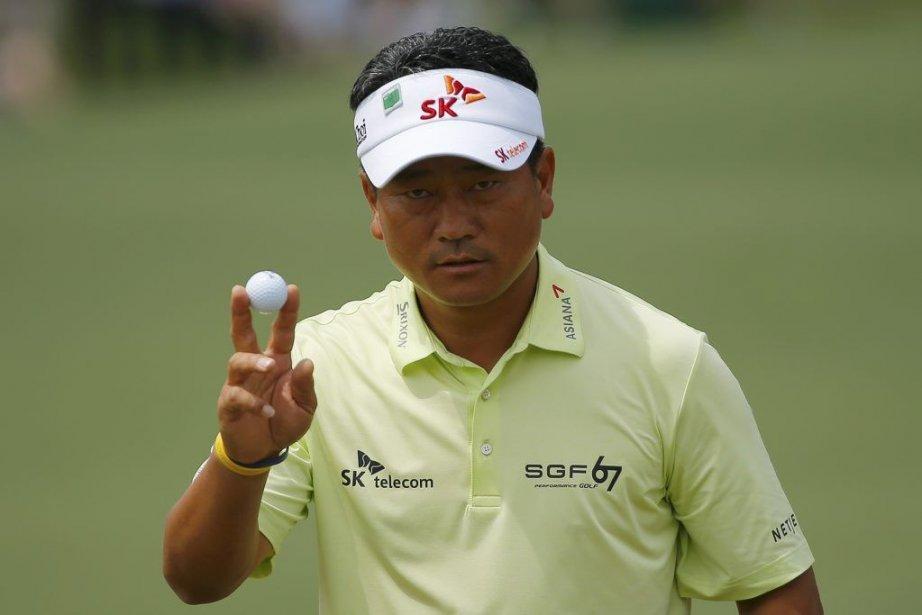 K.J. Choi occupait la tête avant l'arrêt de... (PHOTO BRIAN SNYDER, ARCHIVES REUTERS)
