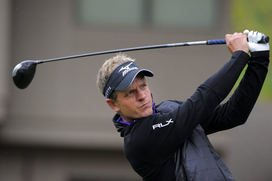 Luke Donald... (Photo Stephen B. Morton, AP)