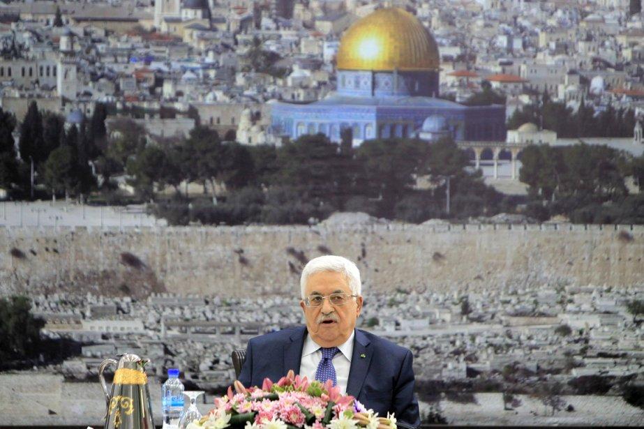 L'Autorité du président Abbas, soutenue par la communauté... (PHOTO ABBAS MOMANI, AFP)