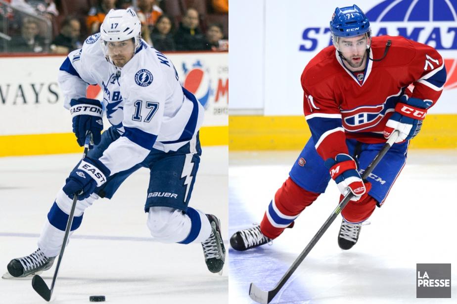 Alex Killorn et Louis Leblanc sont tous deux... (Photos AP et La Presse)