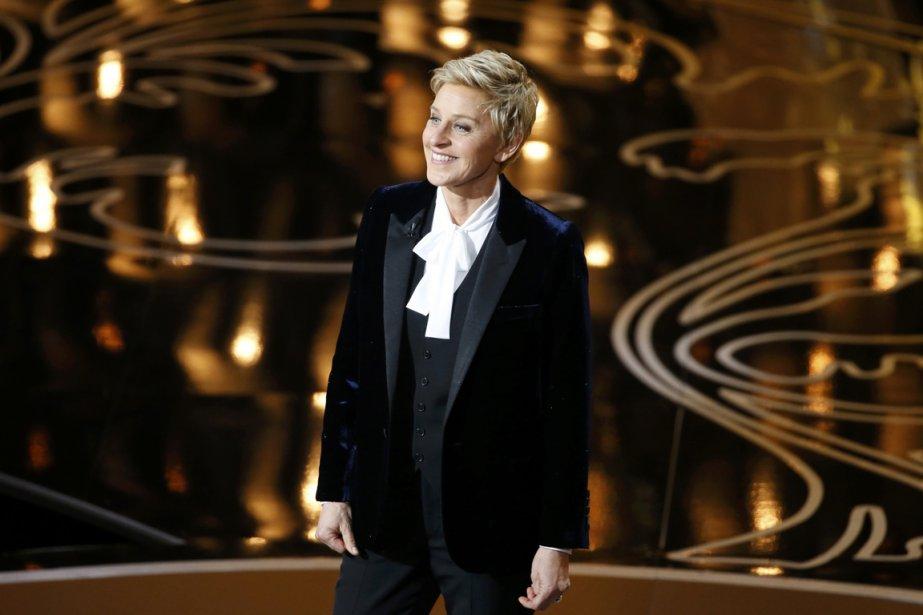 L'animatrice de la cérémonie de 2014 Ellen Degeneres.... (PHOTO LUCY NICHOLSON, REUTERS)