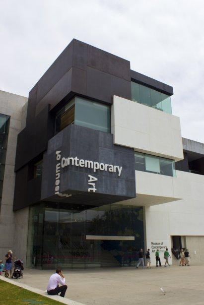 Pour échapper à la chaleur de l'après-midi, planifier une visite au Musée d'art contemporain d'Australie. (Photo Audrey Bourget, collaboration spéciale)
