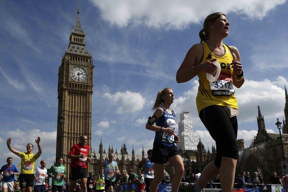 Le marathon de Londes est l'un des plus... (Photo Eddie Keogh, Archives Reuters)