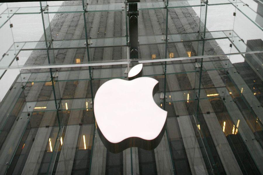 L'action du groupe informatique américain Apple ( (Photo Archives Reuters)