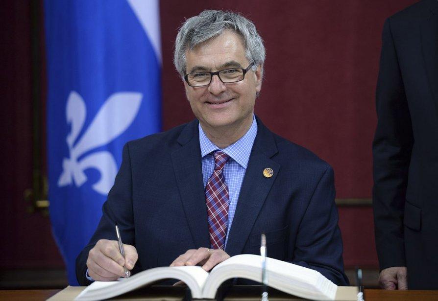 Jean-Marc Fournier, 54 ans  Ministre responsable des Affaires intergouvernementales canadiennes et de la Francophonie canadienne, ministre responsable de l'Accès à l'information et de la Réforme des institutions démocratiques (Erick Labbe Le Soleil)