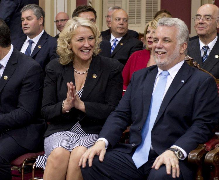 Lise Thériault, 48 ans  Vice-première ministre et ministre de la Sécurité publique (PC)