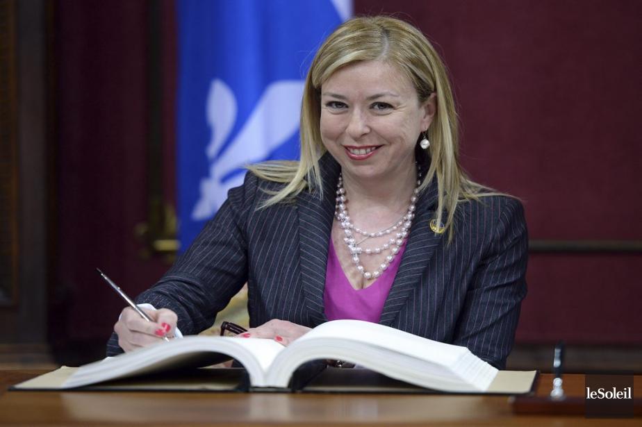 Dominique Vien, 47 ans  Ministre du Tourisme (Erick Labbe Le Soleil)