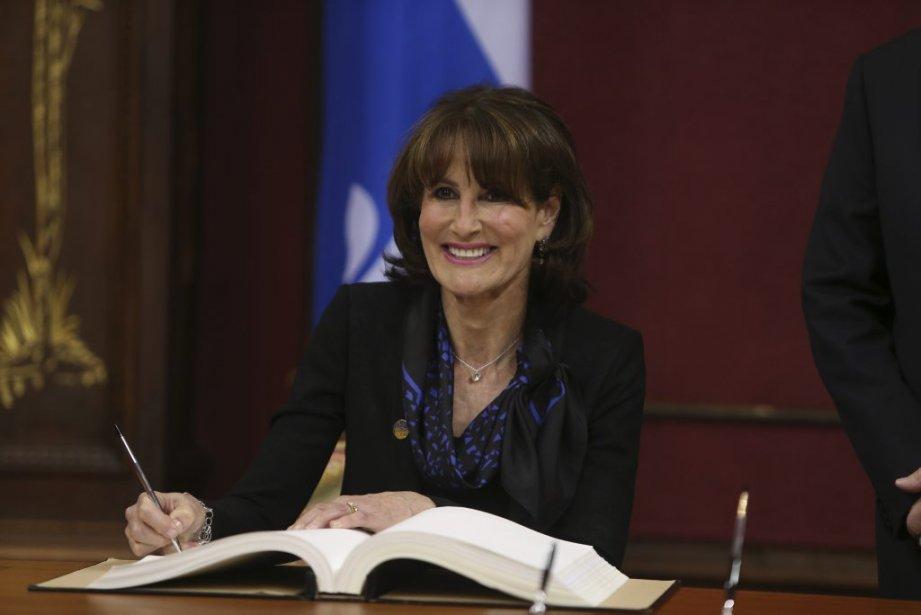 Kathleen Weil  Ministre de l'Immigration, de la Diversité et de l'Inclusion (Martin Chamberland La Presse)