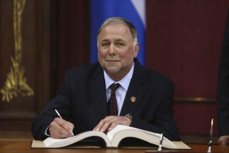 Pierre Paradis, 63 ans  Ministre de l'Agriculture, des Pêcheries et de l'Alimentation (Martin Chamberland La Presse)