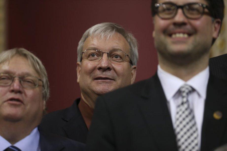 Luc Blanchette  Ministre délégué aux Mines, responsable de la région de l'Abitibi-Témiscamingue et du Nord-du-Québec (Martin Chamberland La Presse)
