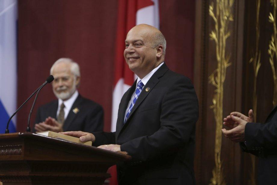 Robert Poëti, 58 ans  Ministre des Transports et responsable de la région de Montréal (Martin Chamberland La Presse)