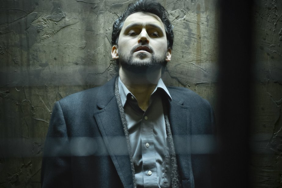 L'acteur Abdelghafour Elaaziz surjoue durant la première partie,... (Photo: Yanick Macdonald, fournie par le Quat'Sous)