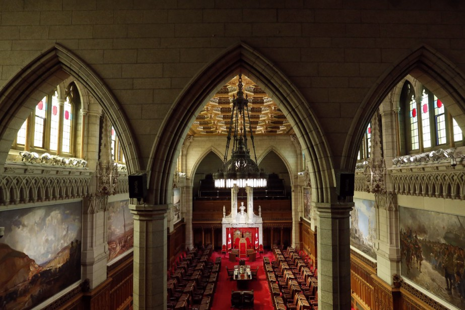 Le sénat du Canada.... (Photo archives Reuters)
