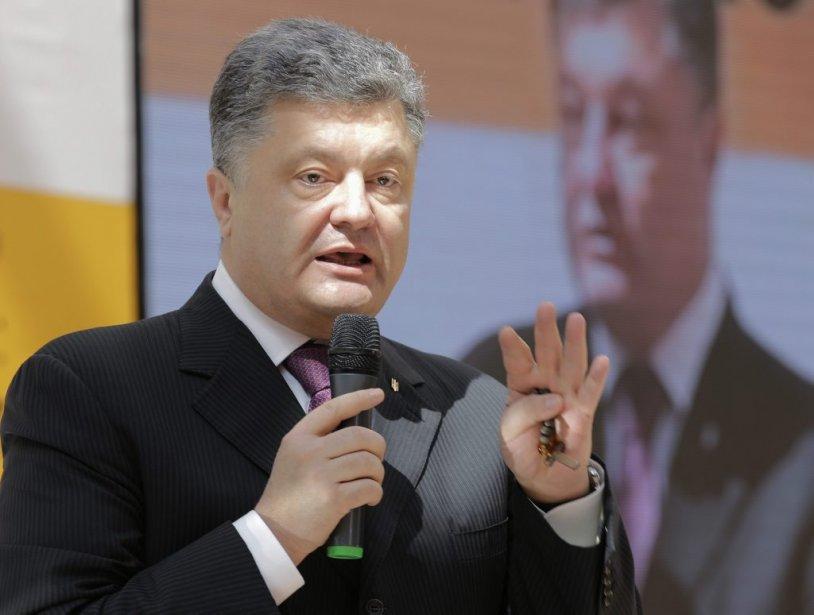 Le roi du chocolat et milliardaire Petro Porochenko... (PHOTO TATYANA MAKEYEVA, REUTERS)