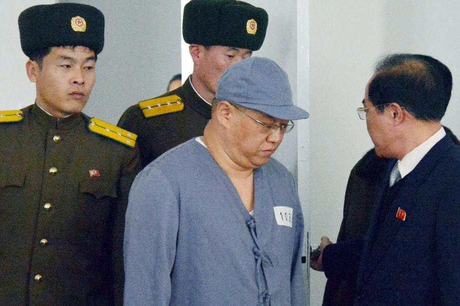La Corée du Nord détient par ailleurs un... (PHOTO ARCHIVES REUTERS/KYODO)