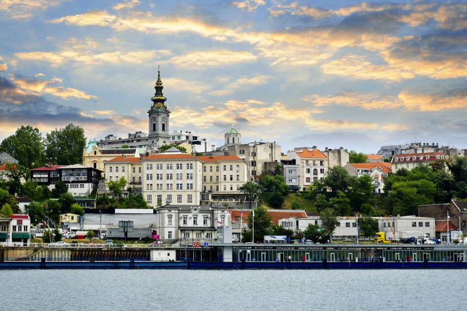 Belgrade, en Serbie.... (Photo Digital/Thinkstock)