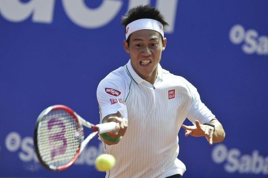 Kei Nishikori... (PHOTO JOSEP LAGO, AFP)
