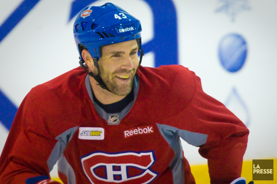 Pour la première fois de sa carrière, Mike... (Photo André Pichette, La Presse)